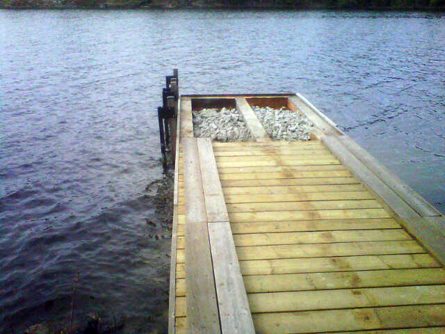 Wooden Dock Building